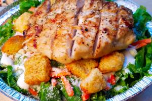 Grilled Chicken Caesar Salad - delivery menu