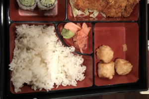 Pork Katsu Lunch Bento Box - delivery menu