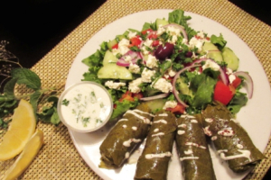 Meat Dolma Plate - delivery menu