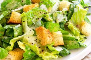 Large Caesar Salad - delivery menu