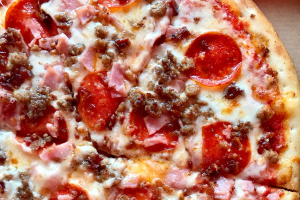 All Meat Pizza - delivery menu