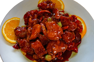 59. Orange Peel Chicken - delivery menu