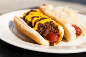 "Frank on a Bun ( Kosher All Beef ""Hot Dog"" ) - delivery menu"
