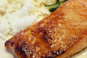 Teriyaki Salmon - delivery menu