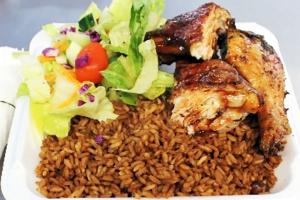 Jerkin Chicken Lunch - delivery menu