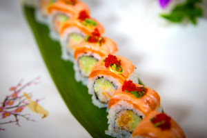 Torched King Salmon Roll - delivery menu