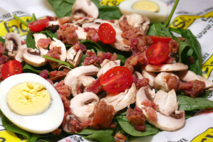 Perfect Spinach Salad - delivery menu
