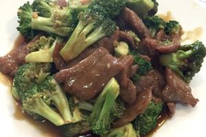 67. Broccoli Beef - delivery menu