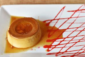 Flan de Caramelo - delivery menu
