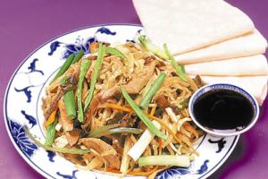 63. Moo Shu Vegetable - delivery menu