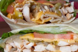 Mexican Wrap - delivery menu
