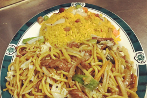 C2. Any Style Lo Mein Combo - delivery menu