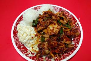51. Spicy Chicken Plate - delivery menu