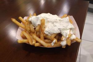 Tzatziki Fries - delivery menu
