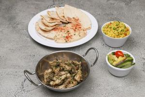 Chicken Shawarma Entree - delivery menu