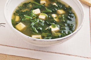 28. Bean Curd with Spinach Soup - delivery menu