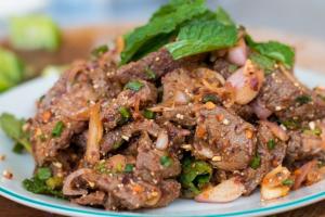 Nam Tok ( Thai Beef salad ) - delivery menu