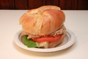 Tuna Salad Sandwich on Bagel - delivery menu