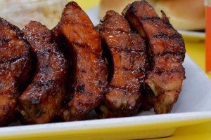 1 order ribs - delivery menu