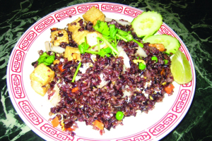 68. Special Brown Fried Rice with Tofu - delivery menu