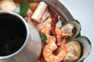 Tom Yum Seafood Soup - delivery menu