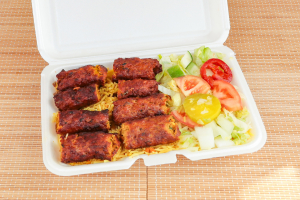 Kabab over Rice - delivery menu