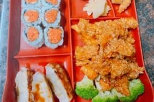 Honey Chicken Dinner Bento Special - delivery menu