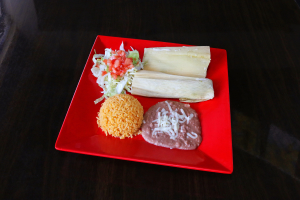 Tamale Dinner - delivery menu