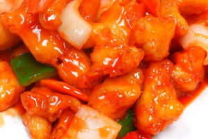 119. Sweet and Sour Chicken - delivery menu