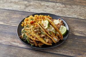 3 Taco Dinner - delivery menu