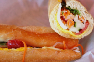 Fried Egg and Chinese Sausage Sandwich - delivery menu