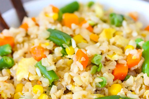 Vegetable Fried Rice - delivery menu