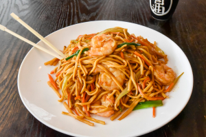 Lo Mein with Shrimp - delivery menu