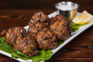 Spinach and Feta Fritters - delivery menu