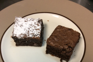 Fudge Brownie - delivery menu