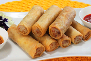 102.  2 Pieces Vegetable Egg Roll - delivery menu