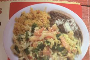 2. Huevos a la Mexicana - delivery menu