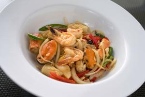 66. Pad Ka Paow Seafood - delivery menu