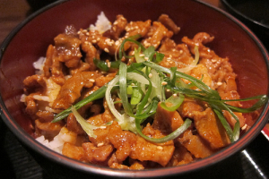 Lunch- Spicy Pork Rice Bowl - delivery menu