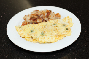 Classic American Cheese Omelet - delivery menu