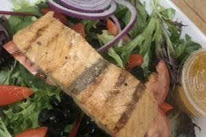 Grilled Salmon Salad - delivery menu