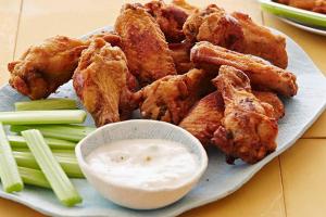 6 Piece Buffalo Wings - delivery menu