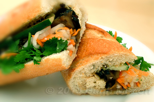 2. Vegetarian Sandwich - delivery menu