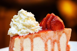 2. Cherry Cheesecake - delivery menu