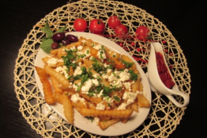 Greek Fries - delivery menu