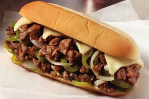 Philly Steak Combo Sandwich - delivery menu