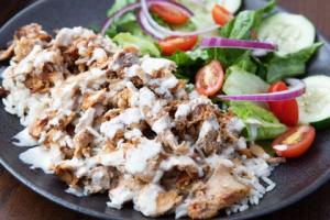 Chicken Shawarma Combo Plate - delivery menu