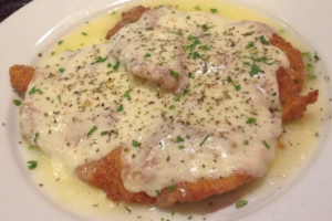 Chicken Milanese Entree - delivery menu