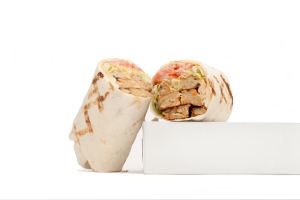 Veggie Burger Wrap - delivery menu
