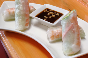 1. Two Fresh Rolls - delivery menu
